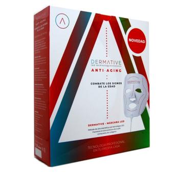 Dermative Antiedad - Mascara Led Facial + Serum + Crema.