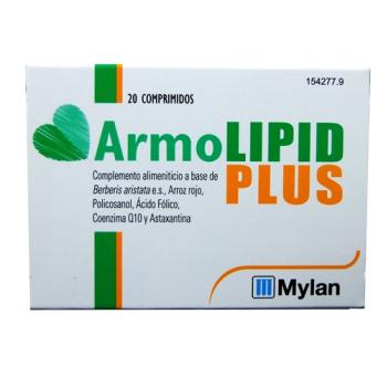 Armolipid plus, 20comprimidos
