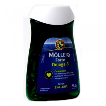 Mollers Forte  Omega-3; 60capsulas de 1gr.