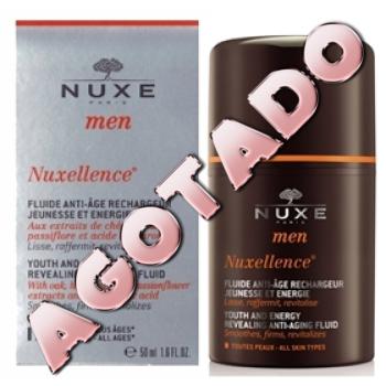 Nuxe men nuxellence fluido antiedad, 50ml.