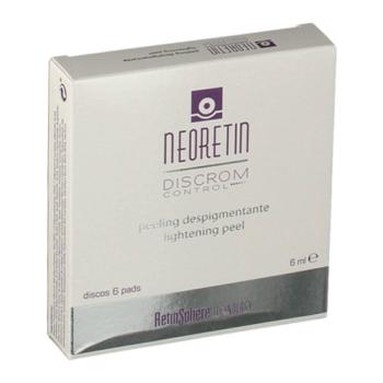 Neoretin Discrom - Peeling Despigmentante; 6 discos.