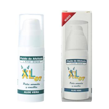 XLor 30 ml, Fluido de Afeitado y After Shave, Acondiciona Cuida y Regenera.
