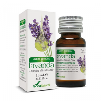 Soria Natural Aceite Esencial de Lavanda, 15 ml.