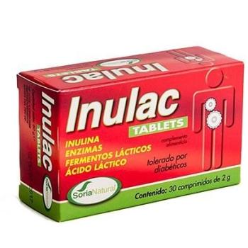 Soria Natural Inulac Tablets; 30comprimidos.