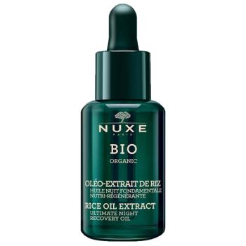 Nuxe Bio Organic Aceite de Noche Fundamental 30 ml, Nutri-Regenerante.