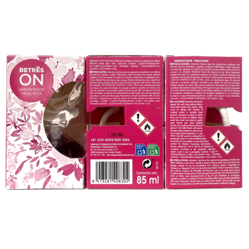 Betres On 90 ml, Ambientador Fresh Rose Pack 3 Un.