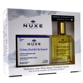 Nuxe CrèmeFraîche Hidratante,PN,Anti-Polución.Pack.