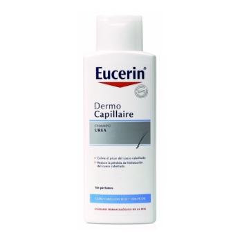 Eucerin Dermocapillaire 150 ml, Champú  Enriquecido con Urea y Lactato.